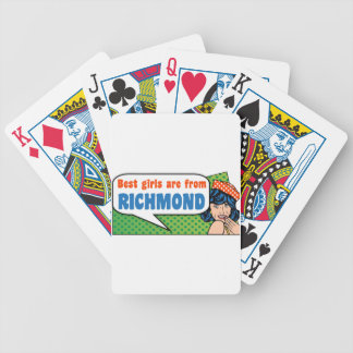 Best girls are from Richmond Bicycle Playing Cards