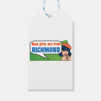 Best girls are from Richmond Gift Tags