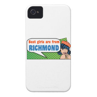 Best girls are from Richmond iPhone 4 Case-Mate Cases