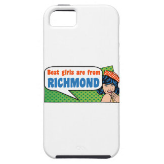 Best girls are from Richmond Tough iPhone 5 Case