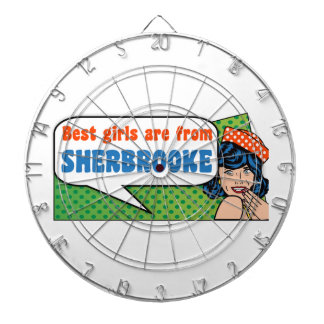 Best girls are from Sherbrooke Dartboard