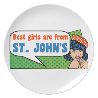 Best girls are from St. John's Plate