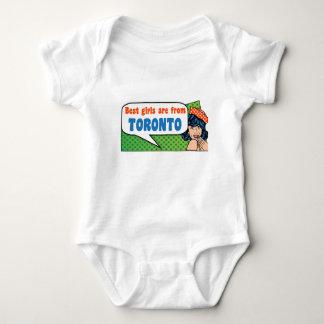 Best girls are from Toronto Baby Bodysuit