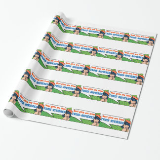 Best girls are from Trois-Rivières Wrapping Paper