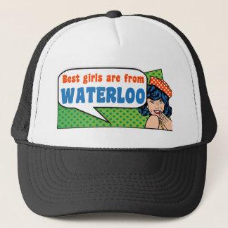 Best girls are from Waterloo Trucker Hat