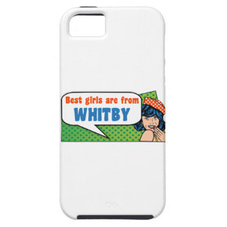 Best girls are from Whitby iPhone 5 Cover