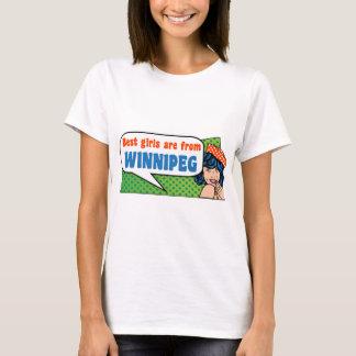 Best girls are from Winnipeg T-Shirt