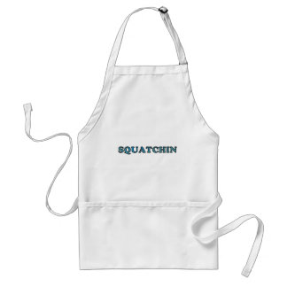 Best Gone Squatchin Funny Ever Standard Apron