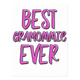 Best grammomie ever grandmother postcard