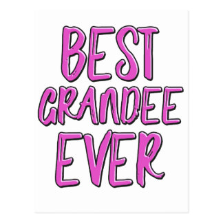 Best grandee ever grandmother postcard