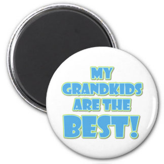 Best Grandkids 6 Cm Round Magnet