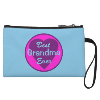 Best Grandma Ever Wristlet Clutch