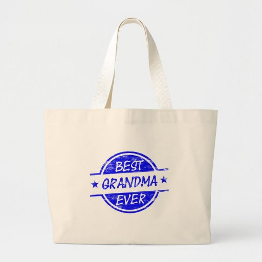 Best Grandma Ever Blue Bags
