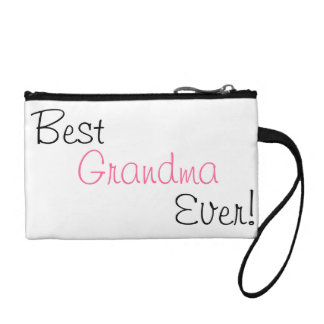 """Best Grandma Ever"" coin clutch Change Purse"
