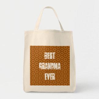 Best GRANDMA Ever Gold Star Pattern Gift Idea