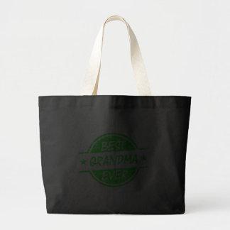 Best Grandma Ever Green Bags