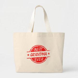 Best Grandma Ever Red Bag