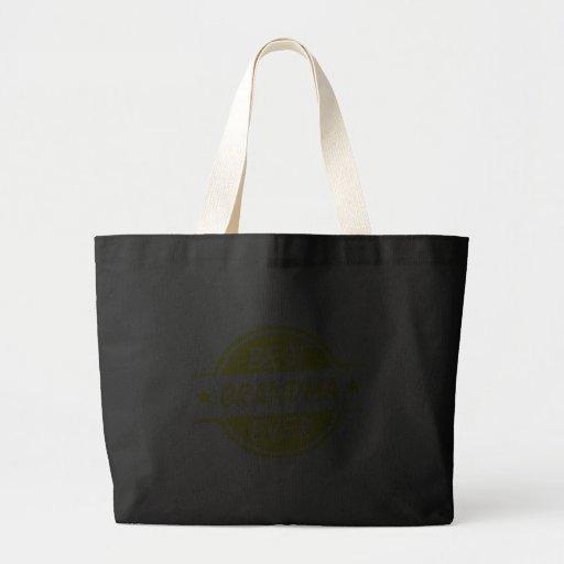 Best Grandma Ever Yellow Canvas Bags