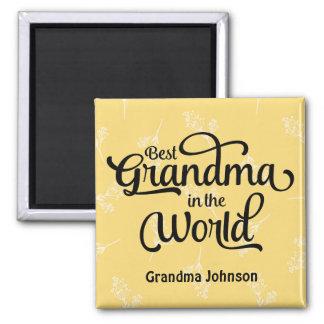 Best Grandma in the World Magnet