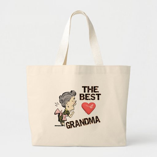 Best Grandma T-shirts and Gifts For Her Canvas Bags