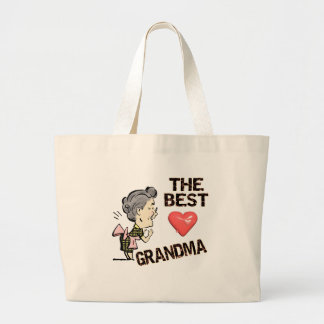 Best Grandma T-shirts and Gifts For Her Jumbo Tote Bag