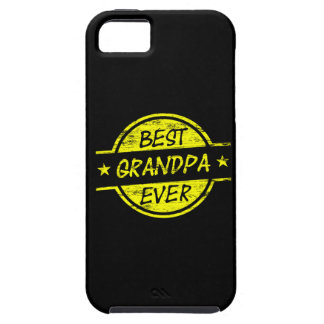 Best Grandpa Ever Yellow Case For The iPhone 5