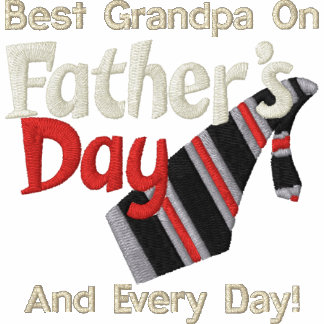 Best Grandpa Every Day Embroidered Polo Shirts