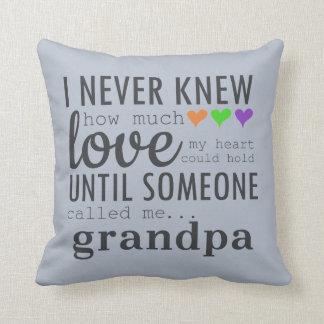Best Grandpa Pillow
