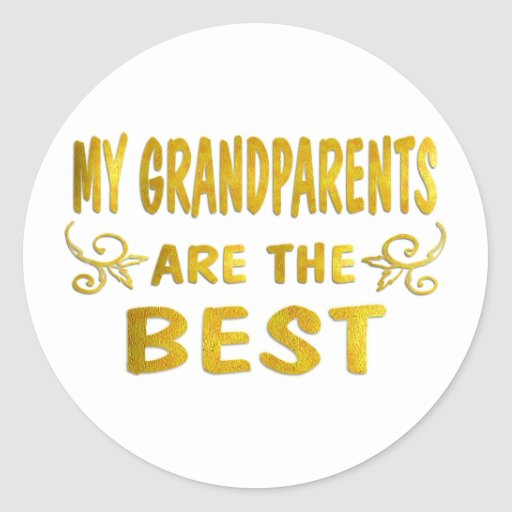 Best Grandparents Stickers