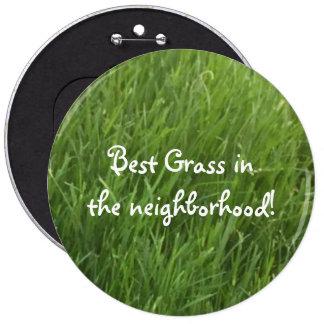 Best Grass in the Neighborhood Award Button