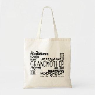 Best Greastest Grandmothers Grandmas Qualities Canvas Bags