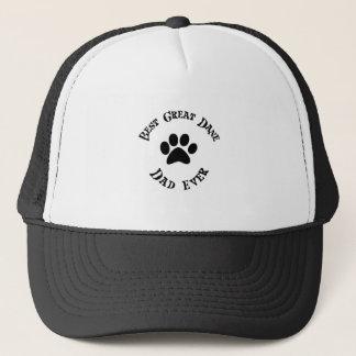 best great dane dad ever trucker hat