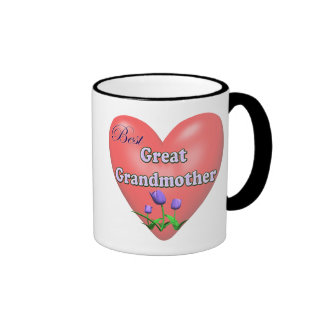 Best Great Grandmother Mothers Day Gifts Ringer Mug