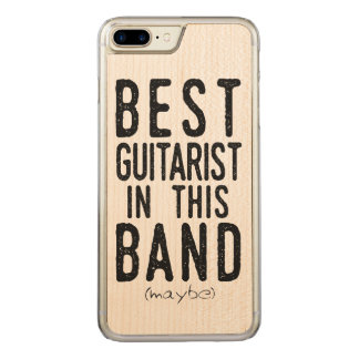Best Guitarist (maybe) (blk) Carved iPhone 8 Plus/7 Plus Case