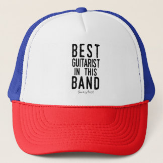 Best Guitarist (maybe) (blk) Trucker Hat