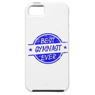 Best Gymnast Ever Blue iPhone 5 Cases
