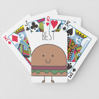 best hamburger bicycle playing cards