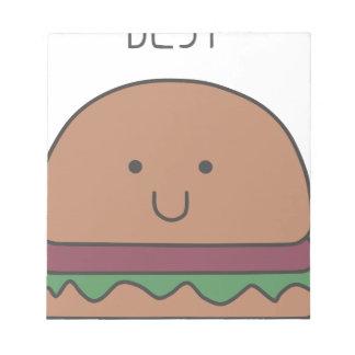 best hamburger notepad