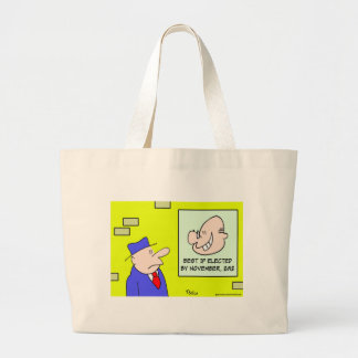 best if elected by november 2012 canvas bag