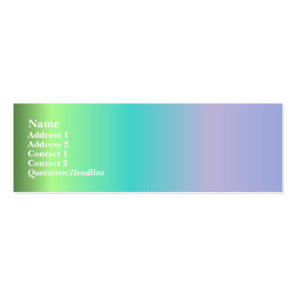 Best in Show Profile Card Pack Of Skinny Business Cards
