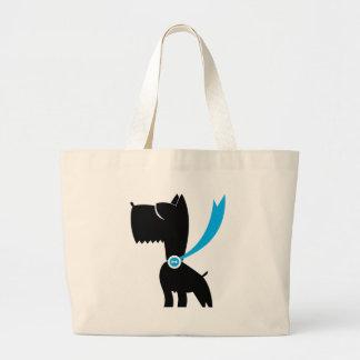 Best in Show Scottie Dog Canvas Bag