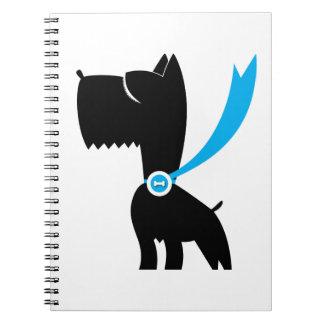 Best in Show Scottie Dog Spiral Note Book