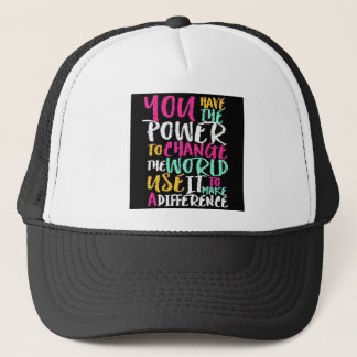 Best Inspirational Quote Trucker Hat