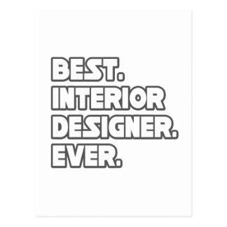 Best Interior Designer Ever Postcard