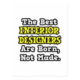Best Interior Designers Are Born, Not Made Postcard