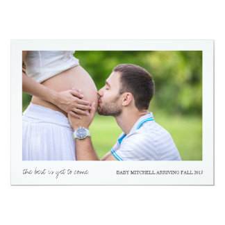 Best Is Yet to Come   Pregnancy Announcement