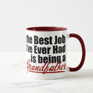 Best Job is Being a Grandfather Mug