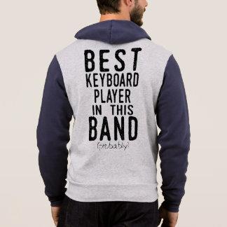 Best Keyboard Player (probably) (blk) Hoodie
