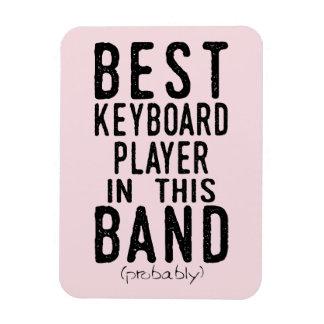 Best Keyboard Player (probably) (blk) Magnet