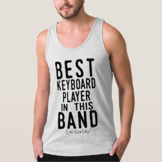 Best Keyboard Player (probably) (blk) Singlet